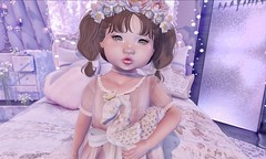 L.O.T.D. 10.15.19 (Emery/Teagan Parker) Tags: mooshie annies armoire colormecute bebebodyfitted swan melanie vco kustom 9 moon amore flowers luanesmagicalworld