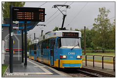 Tram Chemnitz - 2019-12 (olherfoto) Tags: tram tramcar tramway villamos strasenbahn strassenbahn chemnitz cvag tatra tatratram