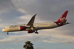 "Virgin Atlantic 78-900 Dreamliner ""Dream Girl"" (G-VAHH) LAX Approach 4 (hsckcwong) Tags: virginatlantic dreamgirl gvahh 787900 7879 787 dreamliner lax klax"