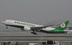 EVA Air Cargo 777-F5E (B-16785) LAX Takeoff 1 (hsckcwong) Tags: evaaircargo evaair 777f5e 777f 777freighterb16785 lax klax