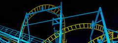 wipeout lll (pbo31) Tags: bayarea california nikon d810 color travel trip boury pbo31 november 2019 autumn santacruz beach boardwalk night dark county julie patterns ride coaster panorama large sitiched panoramic black