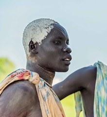 Mundari Tribe (Rod Waddington) Tags: africa african afrique afrika south sudan mundari tribe traditional tribal warrior man culture cultural candid portrait people