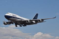 British Airways BOAC Retro Livery 747-436 (G-BYGC) LAX Approach 1 (hsckcwong) Tags: britishairways 747436 747400 7474 gbygc boacretrolivery lax klax