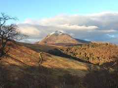 Goat Fell on Arran (Dave Russell (1.5 million views thanks)) Tags: forest tree field autumn 2019 ridge capped cap snow weather iphone6 6 iphone ecosse scotland western west clyde arran island isle scenery scene view landscape scape land mountain hill fell goat