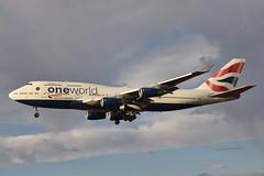 British Airways One World Livery 747-436 (G-CIVZ) LAX Approach 3 (hsckcwong) Tags: britishairways 747436 747400 747 oneworldlivery gcivz lax klax