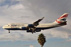 British Airways One World Livery 747-436 (G-CIVZ) LAX Approach 5 (hsckcwong) Tags: britishairways 747436 747400 747 oneworldlivery gcivz lax klax