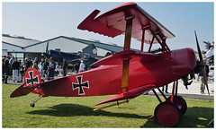 Fokker DR1 (Aerofossile2012) Tags: 1418 fokker dr1 avion aircraft aviation meeting airshow 2018 laferté