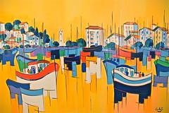 St Jean de Luz (JDAMI) Tags: port bateaux tableau stjeandeluz paysbasque 64 nouvelleaquitaine france nikon d600 tamron 2470 lumière reflets phare ocean nivelle pêche mer