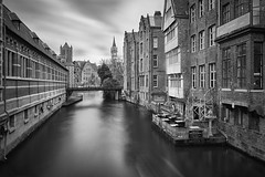 Once upon a time in Ghent (Silviu Gheorghe) Tags: ghent cityscape city belgium fine art long exposure nikon d850 travel destination europe arhitecture oldbuilding water canal urban view