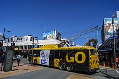 Manners Street - Wellington (andrewsurgenor) Tags: trolleybuses trolleybus trolleycoach trolebús trolejbusowy trolleybuswellington trackless obus filobus nzbus gowellington
