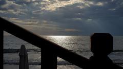 Das Mittelmeer (Türkische Riviera) (dl1ydn) Tags: dl1ydn sonnenuntergang meer urlaub mittelmeer weissesmeer manuell manualfocus vintagelens carlzeiss planar 50mmf14 turkey türkei side landscape