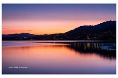 Last lights (Ignacio Ferre) Tags: embalsedesantillana santillanareservoir lago lake manzanareselreal madrid españa spain naturaleza nature landscape paisaje sunset anochecer puestadesol nikon