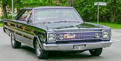 1966 Plymouth Satellite (Gösta Knochenhauer) Tags: 2016 may stockholm sverige sweden capital djurgården gärdesloppet prins bertil memorial car veteran panasonic lumix fz1000 dmcfz1000 p9040251nik p9040251 nik leica lens