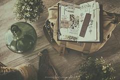 Midori (Graella) Tags: midori scrap travel viajar lisboa lisbon seasonsmydiary seasons flatlay vintage handmade journal bag 52semanas
