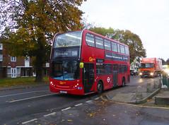 GAL E51 - LX56ETV - ERITH ROAD BEXLEYHEATH - FRI 15TH NOV 2019 (Bexleybus) Tags: goahead go ahead london bx bexleyheath bus garage depot kent da7 tfl route b16 erith road adl dennis enviro 400 e51 lx56etv