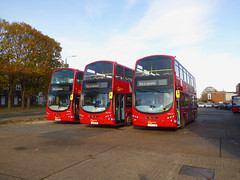 GAL WVL311 LX59CZW - WVL421 LX11CXD - WVN48 BL61ADU - BX BEXLEYHEATH BUS GARAGE - FRI 15TH NOV 2019 (Bexleybus) Tags: goahead go ahead london bx bexleyheath bus garage depot kent da7 tfl route nis not in service wrightbus gemini volvo b9tl wvl311 lx59czw wvl421 lx11cxd wvn48 bl61adu firstbus