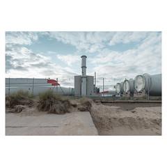 Power Generation (John Pettigrew) Tags: lines yarmouth d750 nikon industrial propellor mundane documentary power imanoot angles topographics ordinary tamron chimney beach great johnpettigrew banal