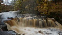 Making Treacle (kpce1960) Tags: november autumn waterfall nature landscape colour color light shadow sony a7 alpha water river stream flow shutterspeed longexposure f22 northyorkshire