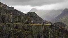 Dinorwic Quarry (Robgreen13) Tags: wales snowdonia dinorwicquarry slate landscape llanberis mist rain