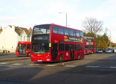 GAL E53 - LX56EUB - BX BEXLEYHEATH BUS GARAGE - FRI 15TH NOV 2019 (Bexleybus) Tags: goahead go ahead london bx bexleyheath bus garage depot kent da7 tfl route nis not in service adl dennis enviro 400 e53 lx56eub