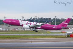 F-WWCU Airbus A330 Neo Wow Air / Citilink (@Eurospot) Tags: fwwcu pkgyc airbus a330 a330900 neo toulouse blagnac citilink 1887 wowair tfmog