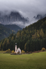 San Giovanni. Val di Funes. Italy. (Seral Mobar) Tags: dolomites italy mountains lakes landscape autum october fuji xt3 xf 1024 views light san giovanni val di funes
