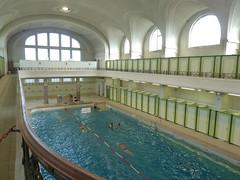 Bains municipaux - Mulhouse (Haut-Rhin) FRANCE (Bernard P.) Tags: france alsace hautrhin piscine ville eau