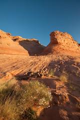A Refuge of Solitude (Ray Palmer Photography) Tags: glencanyon glencayonnra slickrock desert butte sandstone navajosandstone autumn sunrise rock arizona page lakepowell