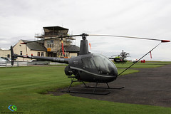 Robinson R-22 Beta II (Matt Sudol) Tags: robinson r22 beta ii perth scone airfield airport aerodrome scotland gcfhu
