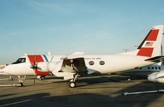 02 Gulfstream 1  Miami  1991 (liekwxtt43) Tags: uscg 02 gulfstream g1 g159 miami kmia mia