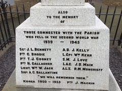 Photo of Carstairs Village War Memorial