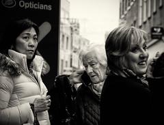 Three women (Allan Rostron) Tags: york street people