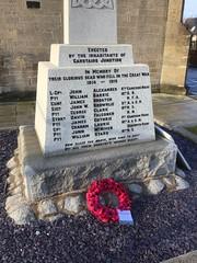 Photo of Carstairs Junction war memorial