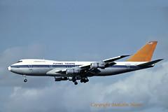 BOEING 747-273C N749WA FLYING TIGERS ex VIASA (shanairpic) Tags: jetairliner b747 boeing747 shannon world flyingtigers viasa n749wa