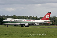 B747 N470EV EVERGREEN SUPERTANKER (shanairpic) Tags: jetairliner b747 boeing747 shannon evergreen n470ev firebomber supertanker