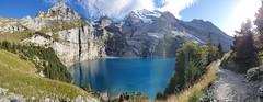 The mighty Öschinensee (Vincent_Thonnart) Tags: hohtürli kandersteg griesalp blümlisalp öschinensee alps alpes alpen schweiz suisse switzerland