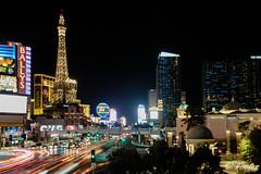 Vegas' light trails (Mauro Grimaldi) Tags: otr usaotr2019 america journey ontheroad realamerica travel trip usa vacations vancanzeinamerica viaggio lastrada lasvegas sincity lasvegasboulevard thestrip