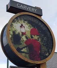 Miners Peg - Skelmersdale, Lancashire. (garstonian11) Tags: pubs pubsigns lancashire skelmersdale marstons