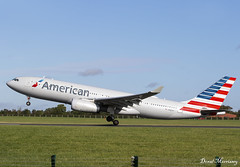 American Airlines A330-200 N287AY (birrlad) Tags: dublin dub international airport ireland aircraft aviation airplane airplanes airline airliner airlines airways takeoff departure departing runway rotate climbing aa airbus a330 a332 a330200 a330243 american n287ay