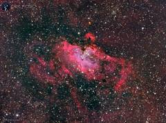 M16 LRGBHa (https://celfoscastrofotografia.blogspot.com/) Tags: astrofotografia astronomía astronomy astrophotografy cieloprofundo messier m16 messier16 meade lxd75 skywatcher ed80 ccd qhyccd qhy163 qhy163m astrometrydotnet:id=nova3741184 astrometrydotnet:status=solved