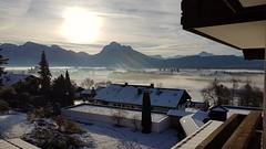Die ersten Sonnenstrahlen (kvasi23) Tags: hopfensee allgäu schlossneuschwanstein schwangau füssen morgensonne alps alpen berge mountain montagne montani sehenswürdigkeiten