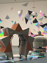 1-6 Handles at MoMA (MsSusanB) Tags: nyc newyorkcity museum moma exhibition museumofmodernart yang installation handles haegue sculpture performance