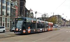 Express&Express (1) (Peter ( phonepics only) Eijkman) Tags: amsterdam city combino colorbino gvb tram transport trams tramtracks trolley rails rail strassenbahn streetcars nederland netherlands nederlandse noordholland holland
