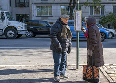 """""""Yes, Dear """" (J MERMEL) Tags: elderlycouple husband wife happy marriage"""