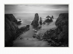 The needles of Port-Coton (paolo paccagnella) Tags: ppaccagnella phpph© lesaiguillesdeportcoton bretagne fr eu bn bw biancoenero best blackandwhite seascape sea eos canonequipment territorio ambiente autumn ass activity sky foto flickr framework fineartprint