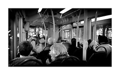 The bus ride ! (CJS*64) Tags: bus bustrip people passngers ride busride transport travel manchester cjs64 craigsunter mobilephone blackwhite bw blackandwhite whiteblack whiteandblack monochrome mono