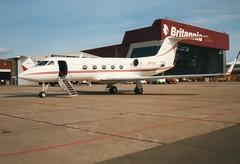 XA-FOU Gulfstream 3   Luton (liekwxtt43) Tags: g3 gulfstream xafou ltn eggw bizav