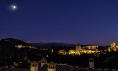 La tercera de la Alhambra (José Luis Esteve) Tags: alhambra granada andalucía arquitectura españa nocturno panorama joséluisesteve