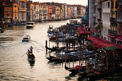 Grand Canal (Fairy_Nuff (piczology.com)) Tags: grand canal venice welshot gondola gondolier vaporetto