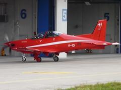 A101 (liekwxtt43) Tags: a101 pilatus pc21 lsme emmen